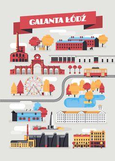 """""""Weź NIEMAPĘ i chodź na spacer"""" – wystawa plakatów - PLN Design"""