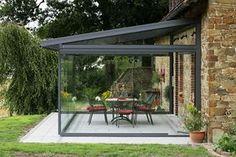 How Does Pergola Provide Shade Outdoor Rooms, Outdoor Living, Outdoor Decor, Gazebos, Glass Extension, Rear Extension, Sunroom Decorating, Glass Room, Diy Pergola