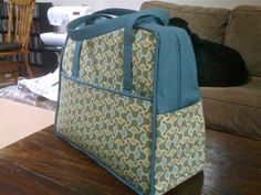 Amy Butler's Weekender bag tips from a lady who made 4 of them