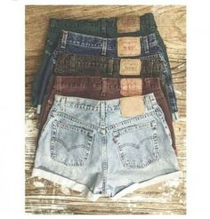 Light wash distressed ruby denim shorts #dress #buyable