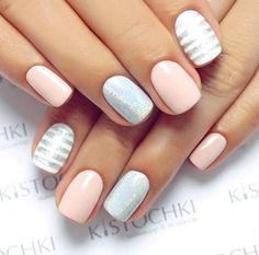 25 of the most beautiful nail designs to inspire you - new women& hairstyles - Nageldesign - Nail Art - Nagellack - Nail Polish - Nailart - Nails - Hair And Nails, My Nails, Oval Nails, Cute Shellac Nails, Shellac Nail Designs, Nails Design, Manicure Ideas, Gel Nail, Gel Manicure