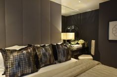 Honky's interiors for this duplex apartment at the prestigious Abell & Cleland development in London's Westminster reflected the true spirit of these luxurious new homes. Elegant soft furnishings in charcoal grey and pale gold perfectly complement the light and airy living space, while darker more dramatic shades evoke an intimate and opulent feel in the …
