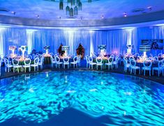 Blog water dance floor