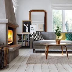 6 salas de estar para inspirar! https://www.homify.com.br/livros_de_ideias/21570/6-salas-de-estar-para-inspirar