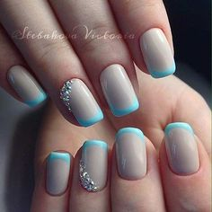 """Every girl likes beautiful nails and nails are the first thing we notice about one another. Hence, the reason we need to look after them. We always remember the person who had the incredible nails and on the contrary, the worst nails we've ever seen. So make sure you're nails are pampered and looking as … Continue reading """"31 Cool French Tip Nail Designs"""""""