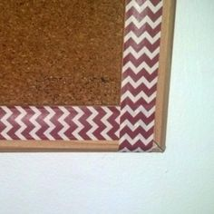 5 Minute Washi Tape Bulletin Board - The Little Green Den