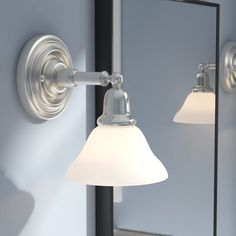 Charlton Home Harrisburg Dimmable Bath Sconce Finish: Brushed Nickel Best Bathroom Paint Colors, Bathroom Color Schemes, Bathroom Colours, Sconce Lighting, Bathroom Lighting, Tiny Powder Rooms, Painting Bathroom Cabinets, Taupe Walls, Stand Alone Tub