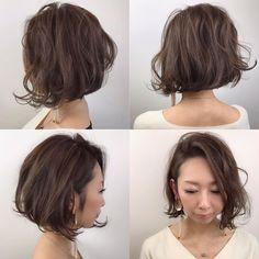 Ciel 魚住理恵子さんはInstagramを利用しています:「ナチュラルマッシュボブ⭐ 毛先はランダムにワンカール𓃟ﻌﻌﻌ❤︎ 外人風でとっても可愛かった♡ いつもありがとうございます☺︎ ★ #hairstyle #簡単アレンジ #外ハネ #hair#岐阜市美容室#ブリーチ…」 Permed Hairstyles, How To Make Hair, Bobs, Hair Style, Hairdos, Perm Hairstyles, Style Hair, Hairstyle, Short Bobs