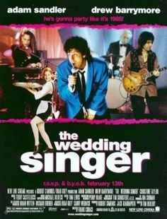 The Wedding Singer (1994) - Starring Adam Sandler & Drew Barrymore