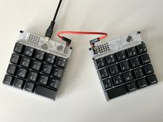 I made a little keyboard [buildlog] : MechanicalKeyboards Electronics Gadgets, Electronics Projects, Technology Gadgets, Rules For Kids, High Tech Gadgets, Old Computers, Cool Tech, Machine Design, Computer Keyboard