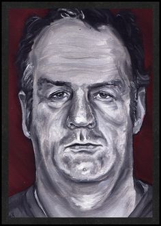Artwork by Nicolas Castelaux, Arthur Shawcross is Card Number 88 from the New Serial Killer Trading Cards.