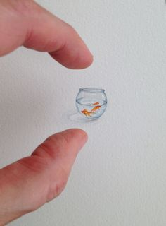 Les minipeintures de Brooke Rothshank  Dessein de dessin