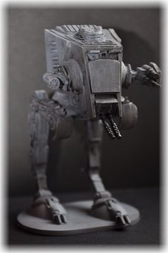 AT-ST from Imperial Assault repaint -wip