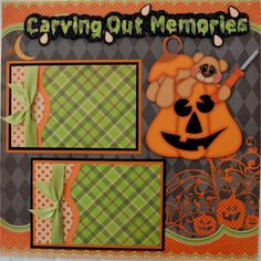 Holloween scrapbook pages | Free Halloween Scrapbook Pages Pictures