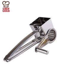 2016 New Stainless Steel Classic Rotary Cheese Grater Safe Fondue Chocolate Lemon Cooking Baking Tools Free Shipping KC22277 #clothing,#shoes,#jewelry,#women,#men,#hats,#watches,#belts,#fashion,#style