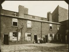 Peaky Blinders-Barford Street   Their development grew out of overcrowded slums where life was cheap, and from the encompassing presence of alcohol-fuelled violence.