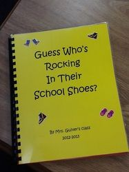 Class Pete the Cat Book - Using Children's Names.  Cute!
