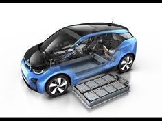 BMW i3 with more powerful battery (Animation) - BMW Group (July 2016)