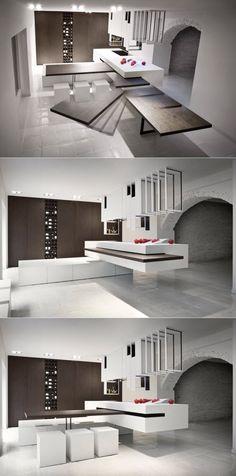 267 best smart space saving furniture images space saving rh pinterest com