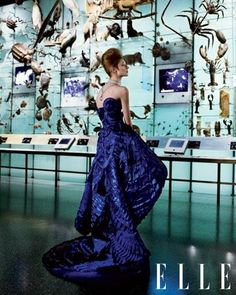 Museum-Worthy Couture Gowns.  Not just the Museum.  I would Vaccum in this