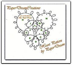 Il mio schema libero di cuore al chiacchierino / Heart Pattern, free for you   Blog di paperdreamcreations