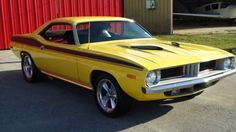 "1973 Plymouth Barracuda- Cuda ""340"""