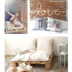 Oh the things you can do with old pallets... It's end is entirely up to your imaginations limits!!!! Loveeeeee