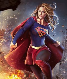 Supergirl from Injustice 2 Mobile Supergirl 9 Supergirl Comic, Melissa Supergirl, Supergirl And Flash, Supergirl 2015, Ms Marvel, Marvel Dc Comics, Injustice 2, Melissa Marie Benoist, Power Girl Comics
