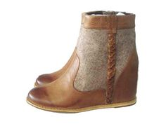 """Emmie"" Hidden Wedge Ankle Boot by 80%20"