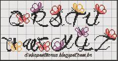 Monograma coordenado com gráficos inéditos de Carina Cassol: e aqui uma dica de como usar as cores combinando com cada...