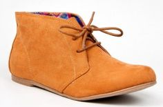 Qupid SHUFFLE-01 Designer Inspired TOMS Lace Up Flat Desert Boot Ankle Bootie Qupid. $20.68