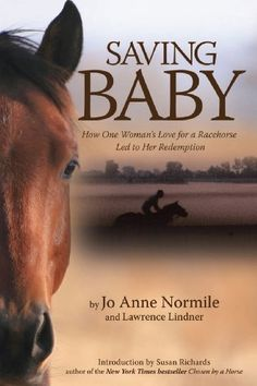 Saving Baby: How One Woman's Love for a Racehorse Led to Her Redemption: Jo Anne Normile, Lawrence Lindner, Susan Richards: A. I Love Books, Good Books, My Books, Books To Read, Best Classic Movies, Good Old Movies, Horse Movies, Horse Books, Crush Movie
