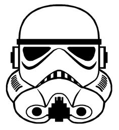 Storm Trooper Helmet Vector by sabresteen.deviantart.com on @DeviantArt