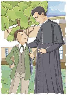 St John Bosco, Diy Clothes Videos, Catholic, Anime, Art, Saints, Christ, Block Prints, Catechism