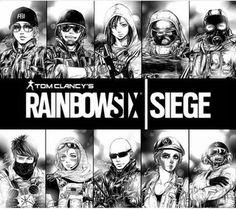 Rainbow Six Siege in anime form. : gaming