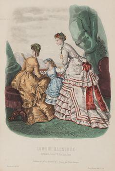 La Mode Illustrée 1868