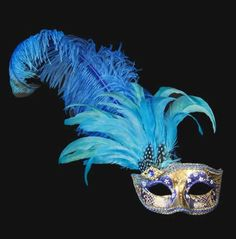 Colombina Can Can Gold Blue