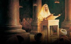 When Jesus grew into a man, He began to teach the people in the Holy Land about God, as other prophets had taught their people before Him, but with an added dimension.