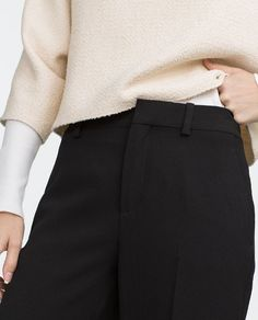 Image 5 of STRAIGHT-CUT TROUSERS from Zara