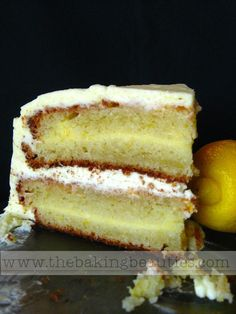Gluten-free Layered Lemon Cake | The Baking Beauties