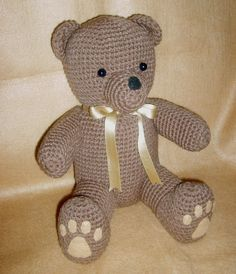 Crochet Teddy Bears PDF Pattern by WolfDreamerOTH on Etsy