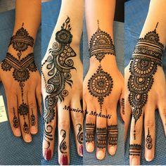 Cute Henna Designs, Mehndi Art Designs, Simple Mehndi Designs, Henna Tattoo Designs, Tattoo Ideas, Mehndi Images Simple, Mehndi Design Pictures, Simple Henna, Henna Ink