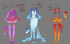 DeviantArt: More Collections Like :: Commission Outfit July 18 :: by VioletKy