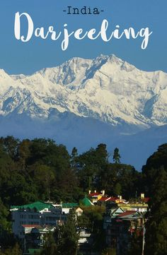 About East of the border with Nepal sits the darling town of Darjeeling. Famous for some of the finest Travel Tours, Asia Travel, Travel Destinations, Travel List, Beautiful Places To Travel, Best Places To Travel, India Travel Guide, Wanderlust, Holiday Resort