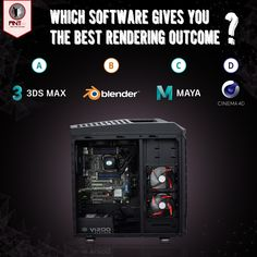 The CG industry has a wide range of 3D applications, but which software gives the best rendering outcome? Comment down below with your preference!