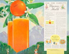 1935-Ad-Sunkist-Orange-Juice-Citrus-Fruit-Valencia-California-Grower-Los-YDL6