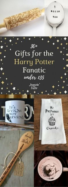 Give your favorite Harry Potter fan some fun products to use in the kitchen- everything from mugs and aprons to some fun cookware and dishes. #harrypotter