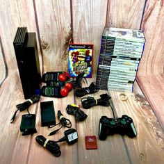 Sony Playstation 2 console Bundle 21 Games Buzz Controllers Eye Camera 8Mb card Playstation 2, Video Game Console, Sony, 21st, Eye, Games, Consoles, Gaming, Console