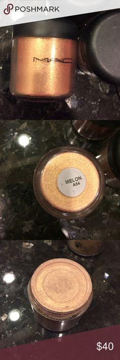 MAC full size pigment .26oz Brand new. Color: melon MAC Cosmetics Makeup Eyeshadow