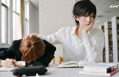 Monday Anime and Manga news RoundUp!: Sekaiichi Hatsukoi cosplay!  http://myanimemangafix.blogspot.com/2012/08/sekaiichi-hatsukoi-cosplay.html